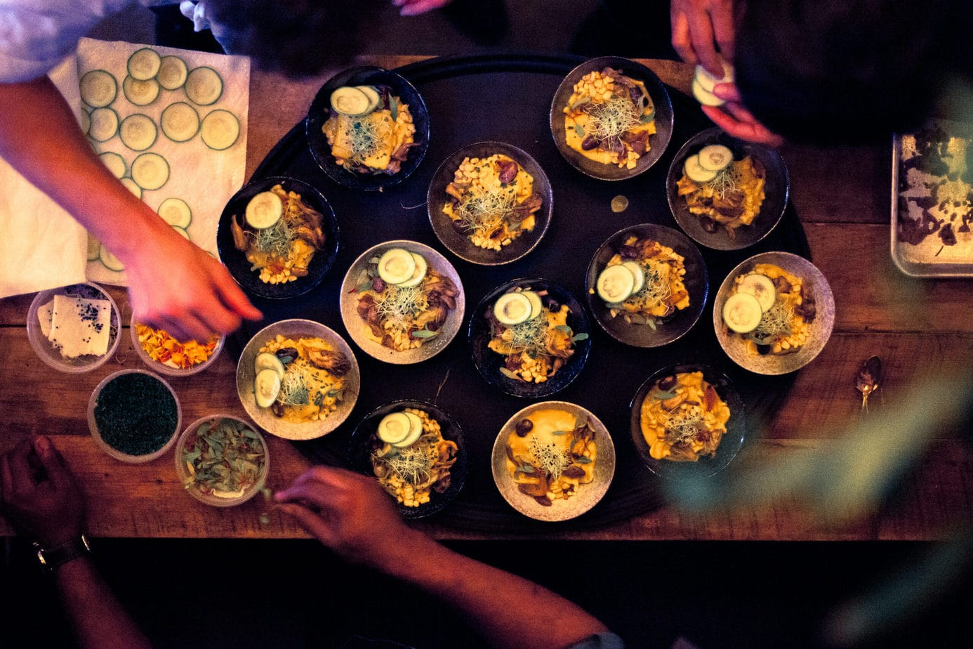 The Herbal Chef is a culinary platform specializing in incorporating plant medicine into avant-garde cuisine: private in-home dining, meal prep, content creation, event catering.